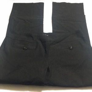 Soho black pants with a wider leg